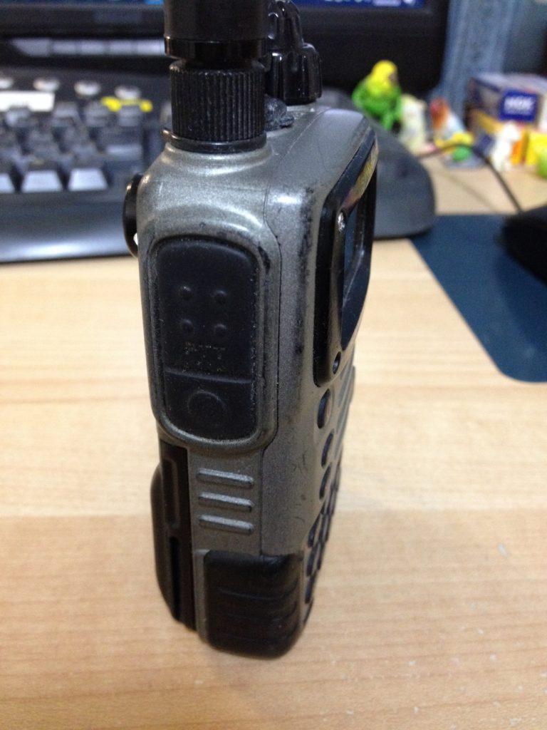 STANDARD VX-7の左側PPTボタン