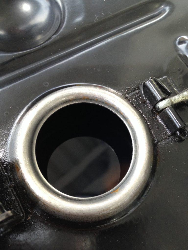ベスパET3はだいたいこのぐらいまでガソリンを入れるといいでしょう
