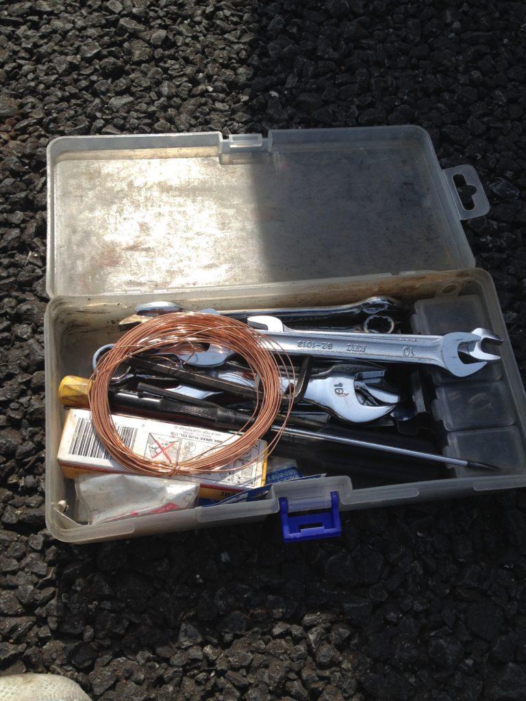 ベスパET3に積んでいる工具類(その4)