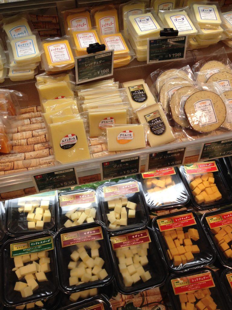 スーパーでの買い物 チーズ3
