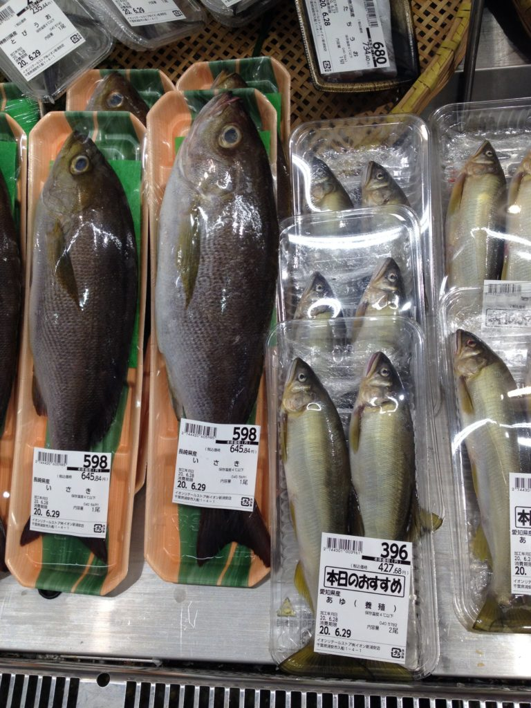 スーパーでの買い物 魚2
