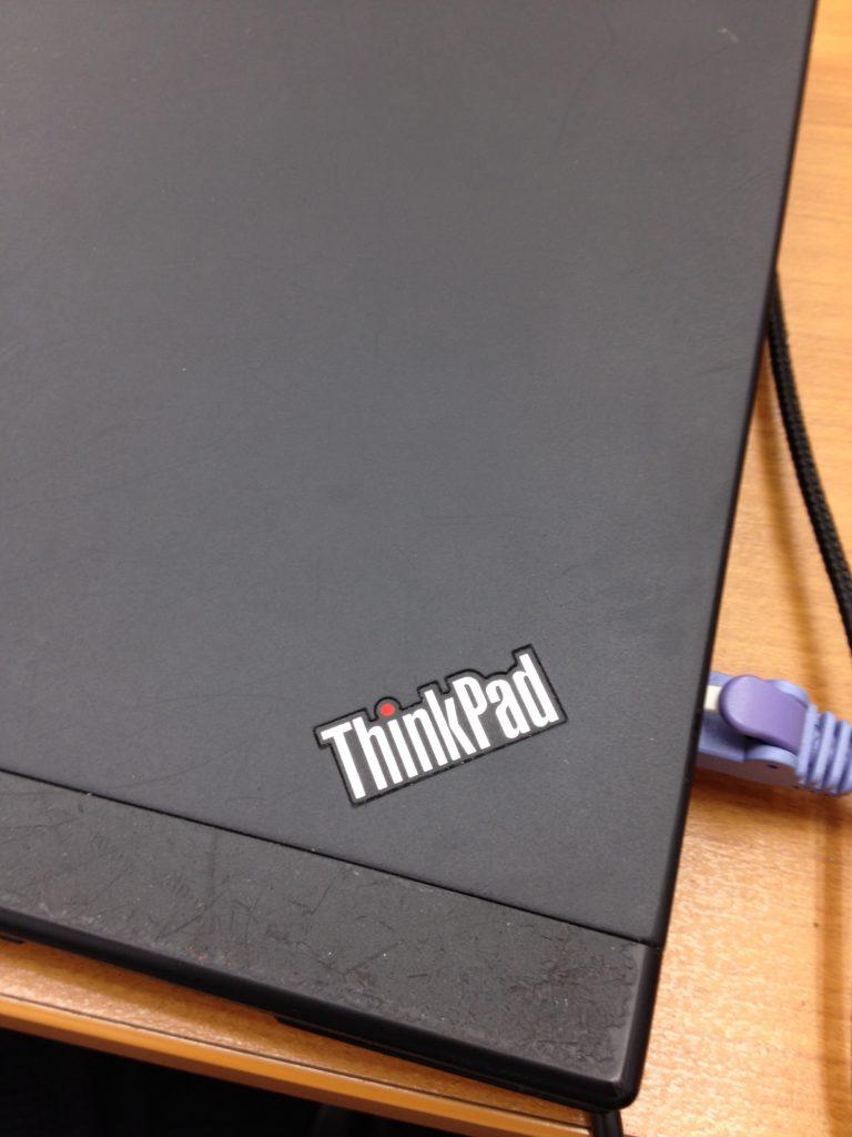 ThinkPad の文字