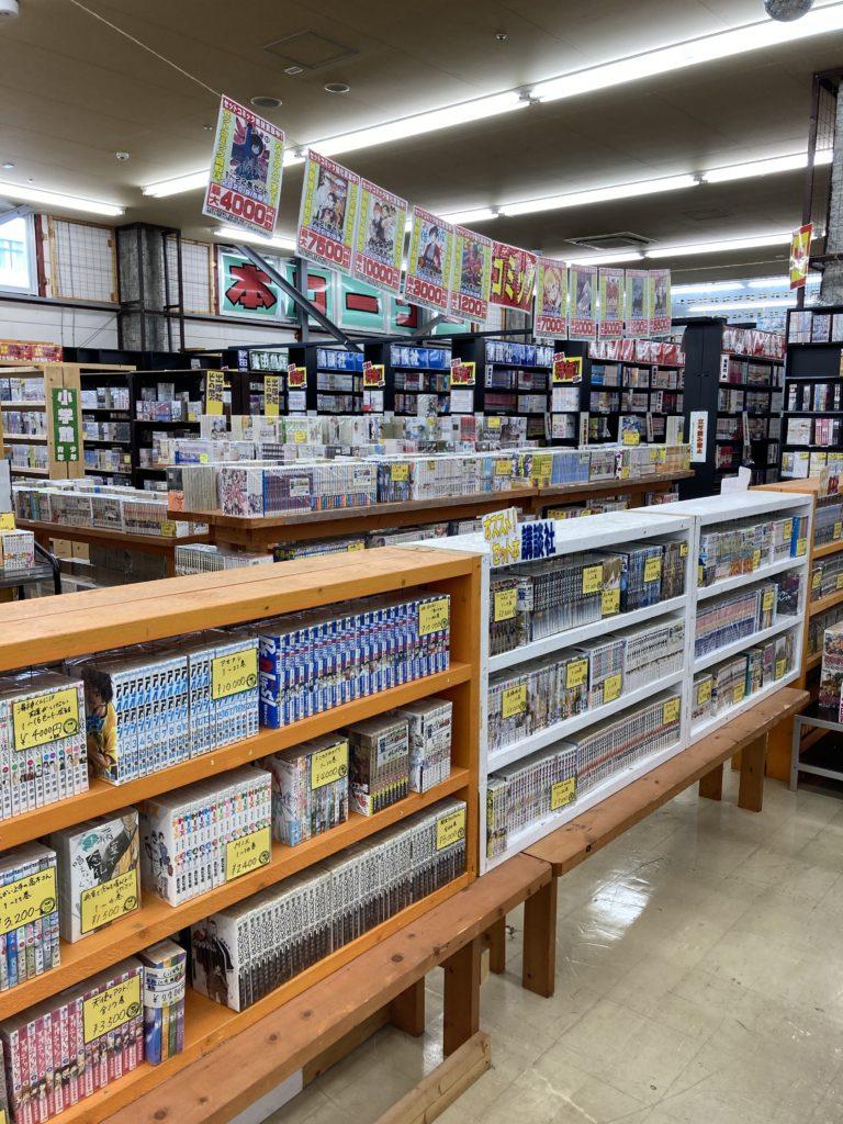 千葉鑑定団 湾岸習志野店 コミック・本コーナー
