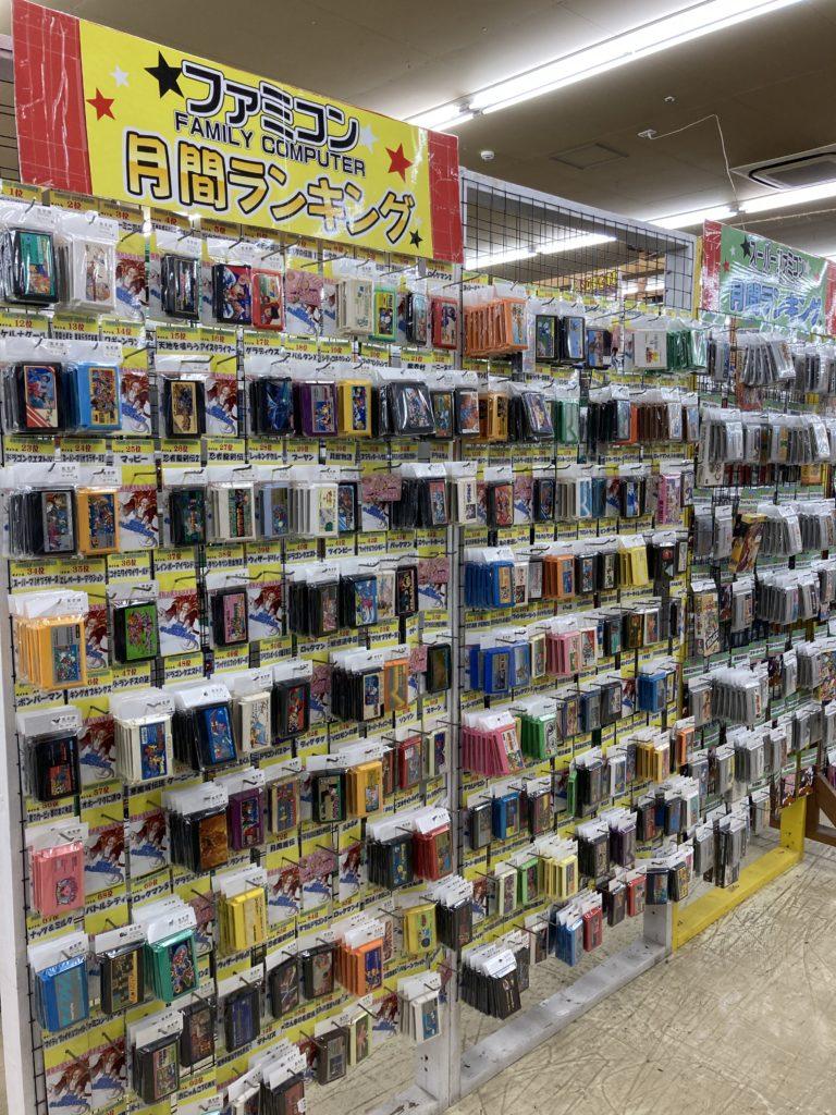 千葉鑑定団 湾岸習志野店 ゲームソフトコーナー
