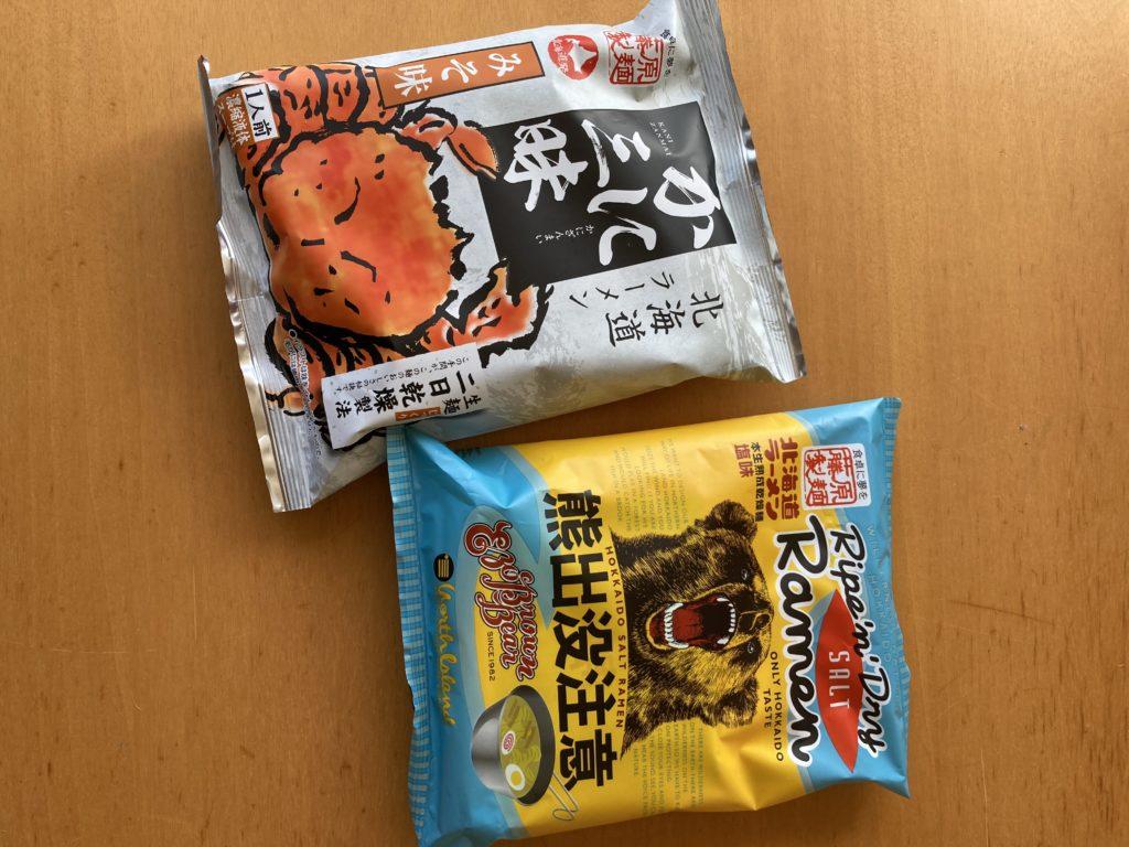 袋麺 北海道風