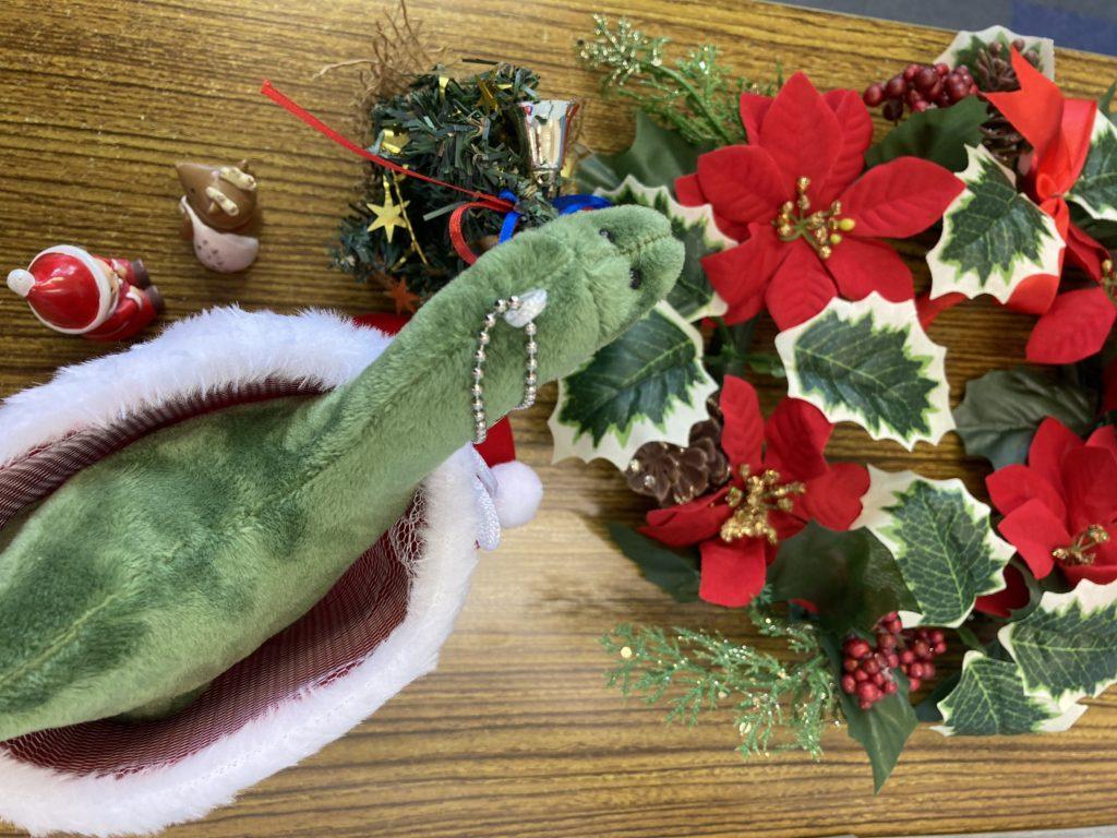 サヨナラ クリスマス飾り
