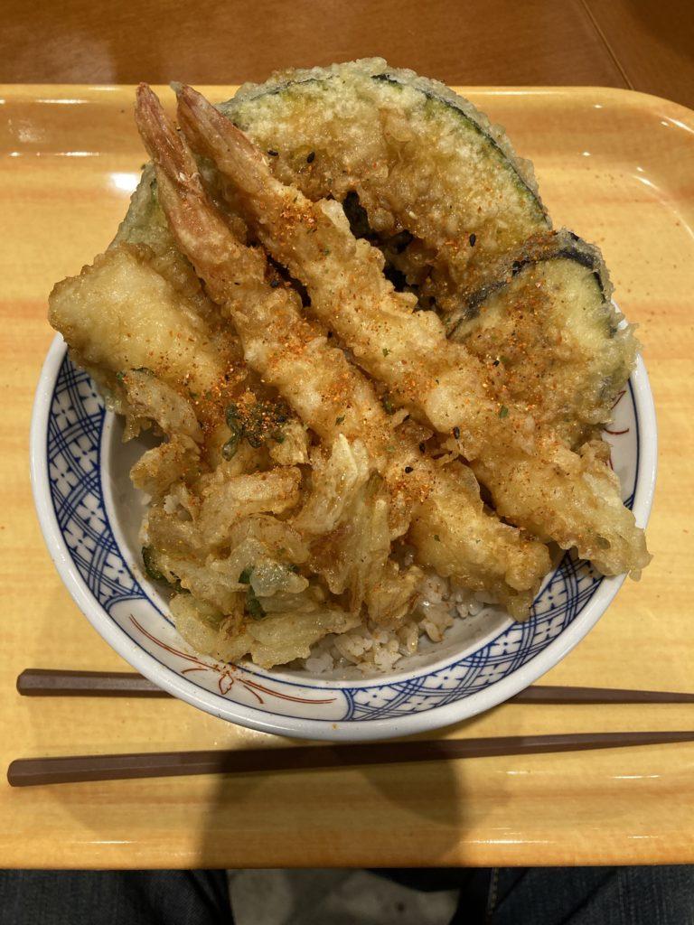 濱乃屋さんで食べた690円の天丼!