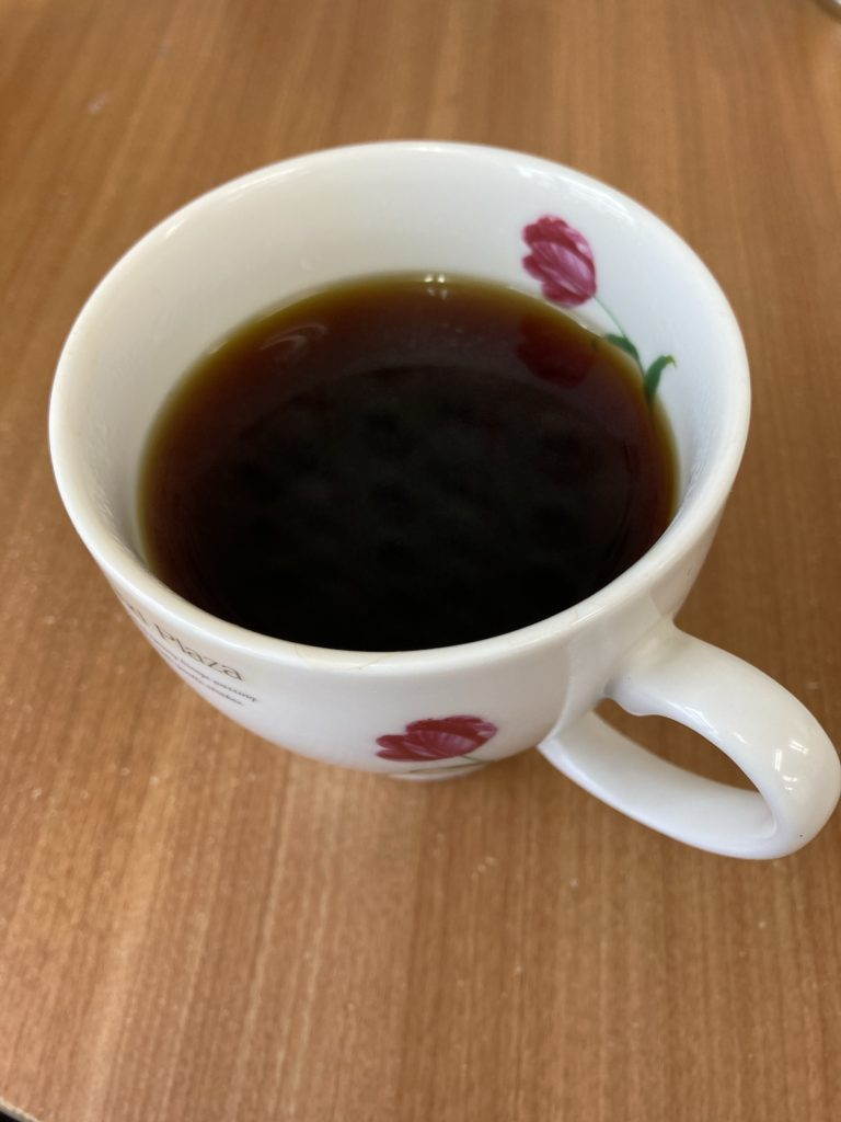 長年愛用しているコーヒーカップ