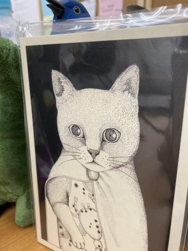 ますむらひろしのイラストポストカード