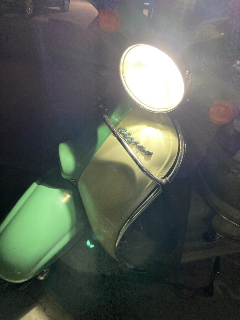 LED化した2ストジョルノ号